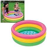 SRJMH� Summer Special 3 feet Inflatable Kid Swimming Pool, Bath tub, Water Pool for Kids (Multicolor)