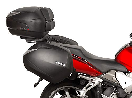 Shad H0VF82IF Soporte Maletas 3P System para Honda Vfr 800 VTEC, Negro