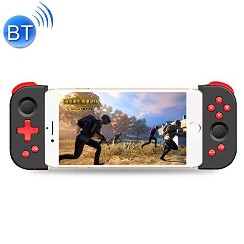QYGGG Gamepad Regulador del Juego de la Palanca de Mando Gamepad Juego X6pro Universal Estirable Bluetooth (Negro)