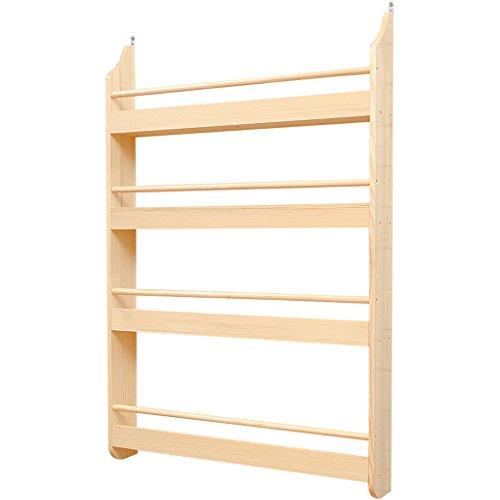 CJH Kinderboekenkast Boekenkast Muur Massief Houten Eenvoudige Boekenplank Plank Kwekerij Baby Foto Boek Rack Opslag Magazine Rack