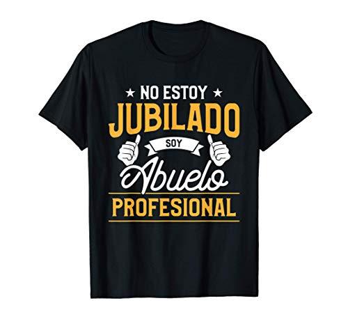 disfraz de jubilación para abuelo Camiseta