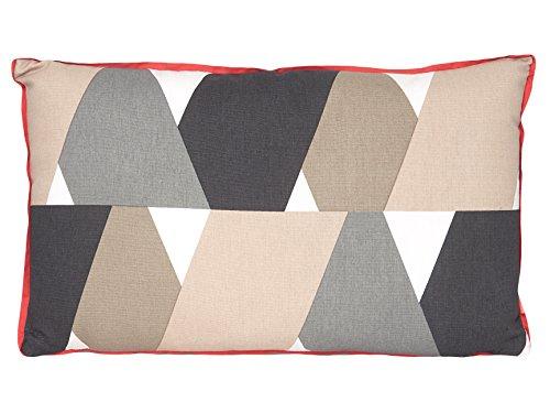 pt, Coussin XL Layers, Coton, Rose, 50 x 30 x 7 cm
