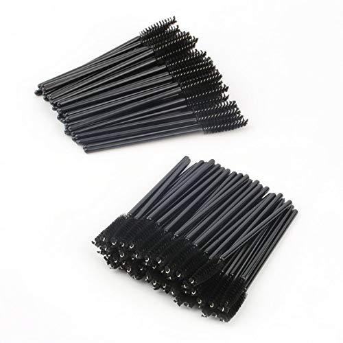 #N/V Lot de 100 mini brosses à cils jetables pour application de mascara