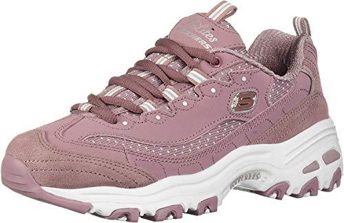 Skechers D'Lites Polka Nite Memory Foam 13142/MVE Sneakers Woman Ginnastica (38 EU)