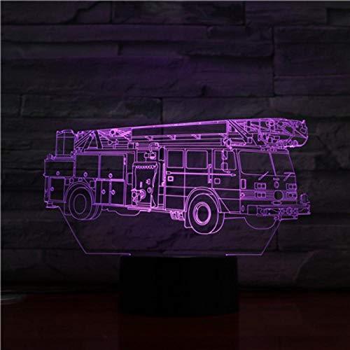 3D Luz Nocturna Lámpara De Noche Cambiante De 16 Colores /Con Mando A Distancia Botón Táctil Y Cable Usb Illusions Luz Nocturna Decoración Para El Hogar Decoración Para Niños Mejor Regalo