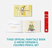TVXQ! - OFFICIAL FAIRYTALE BOOK 東方神起 童話 絵本 (U-KNOW VER. (+ COLORED PENCIL SET))