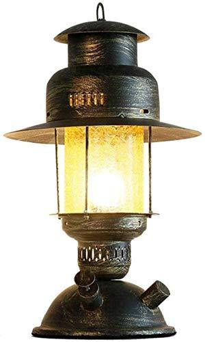 JUNYYANG Estudio lámparas de mesa lámpara de luz de lámpara de escritorio de la decoración de la lámpara de lectura del vector lámparas antiguas artesanía china sala de mesa Lámpara creativa Nostálgic