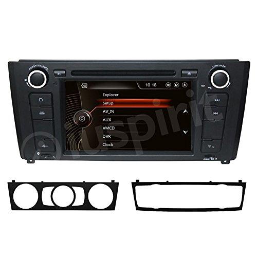 GPS DVD USB SD Bluetooth autoradio navigatore compatibile con BMW serie 1 / BMW E81 / BMW E82 / BMW E88
