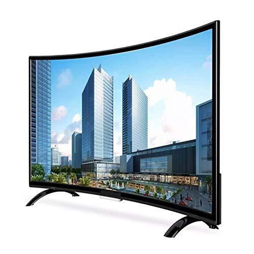 32/50/55/65 Pulgadas TV LCD Curva a Prueba de explosiones TV de Red Inteligente, Televisor LED de Pantalla Plana ultradelgada 4K UHD HDR, Smart TV Android, Proyección de Pantalla inalámbrica