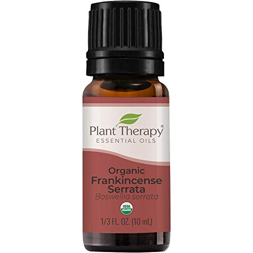 Plant Therapy Organic Frankincense Serrata Essential Oil 100% Pure, USDA Certified Organic, Undiluted, Natural Aromatherapy, Therapeutic Grade 10 mL (1/3 oz)