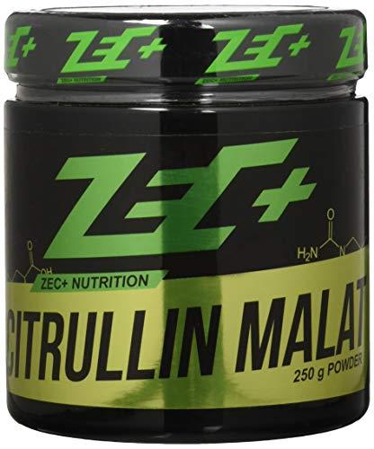 ZEC+ L-Citrullin-Malat Pulver 250g, Aminosäure Pulver beliebt beim Fitness & Kraftsport, Made in Germany