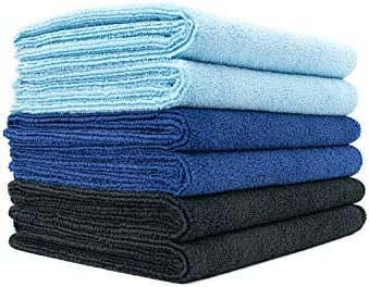 The Rag Company 6 Pack 16 in x 27 in Spa Gym Yoga Exercise Fitness Sport and Workout Towel Super product image