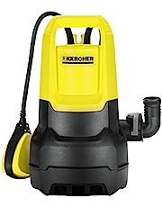 Kärcher SP 3 Dirt Vuilwaterdompelpomp (transporthoeveelheid: max. 7000 l/u, restwaterhoogte: 25 mm, afpompen van water met tot 20 mm grote vuildeeltjes, vlotterschakelaar, comfortabele draaggreep)