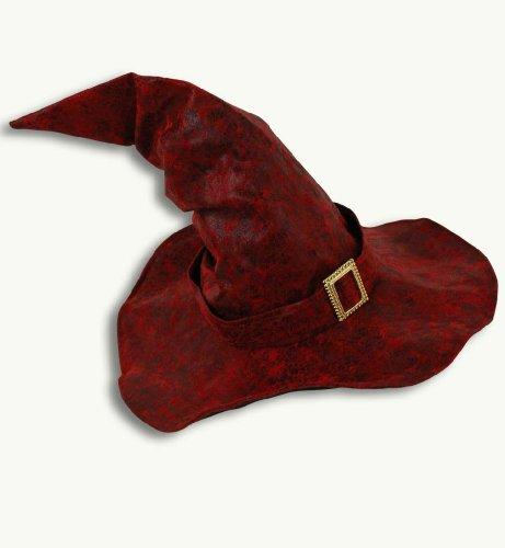 Rouge sorcière chapeau