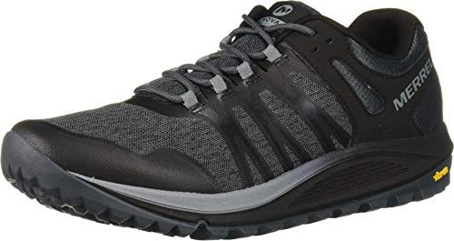 Merrell Nova, Zapatillas de Running para Asfalto para Hombre, Negro (Black), 43 EU