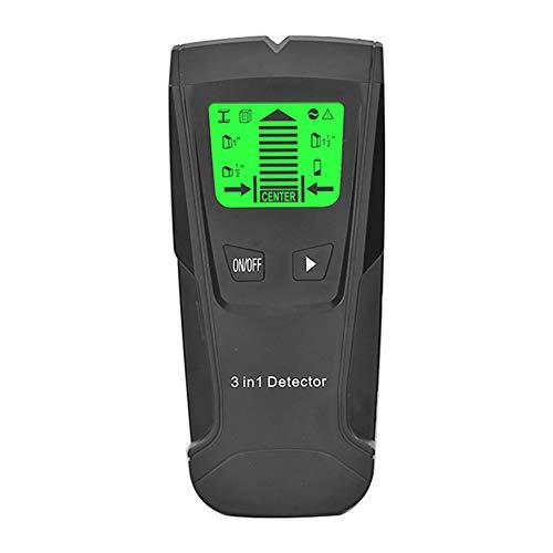 Sensore di rimozione bulloni, rilevatore di metallo, scanner da parete 3 in 1, dispositivo elettronico per tracciare travi in legno con display LCD per bulloni metallici in legno