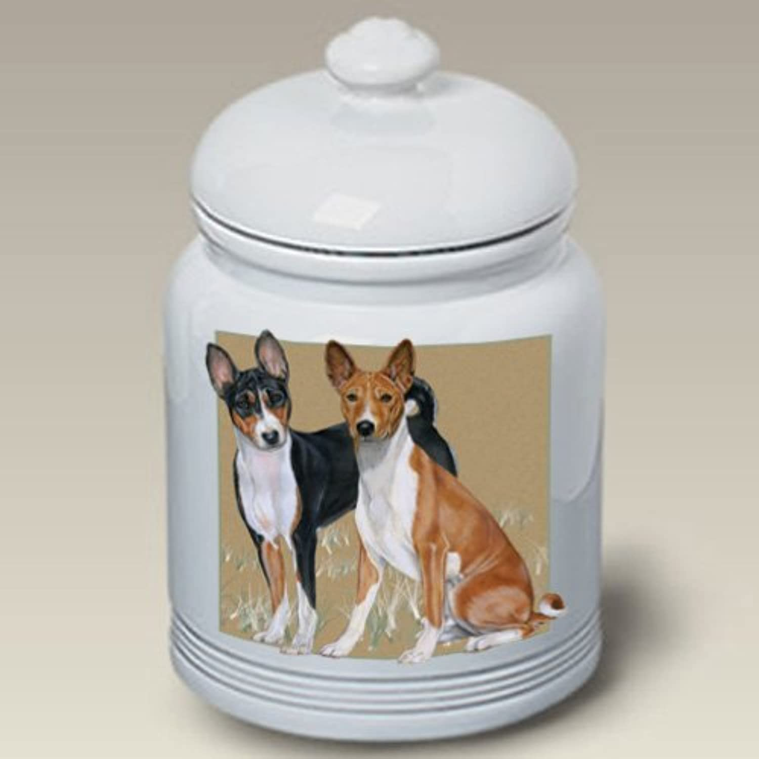 Basenjis Best of Breed Treat Jars