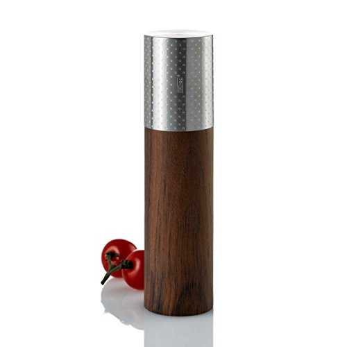 AdHoc MP66 peper- of zoutmolen Goliath, gestippeld, 5 x 5 x 20 cm