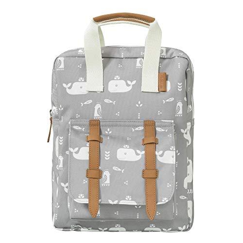 Fresk FB800-26 Kinderrucksack Kindertasche für Jungen und Mädchen mit Wal Motiv