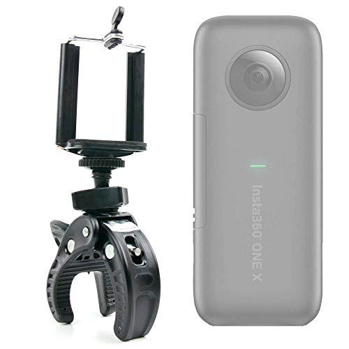 DURAGADGET Kit Supporto Bicicletta per Action Cam Insta360 One X 360