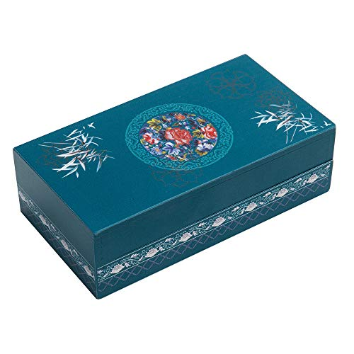 Bits and Pieces - Bamboo-zler Secret Puzzle Box - Wooden Money Box Brainteaser - 8 Step Solution Brain Game