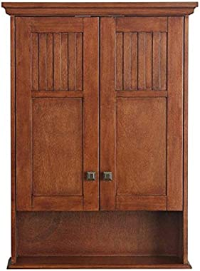 Shilpi Handicrafts Wooden Multipurpose Storage Wall Mount Cabinet for Home & Office