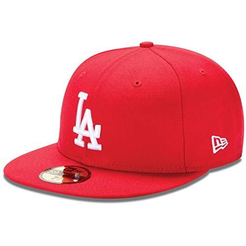 New Era 59Fifty Casquette - Basic LA Dodgers Rouge/Blanc