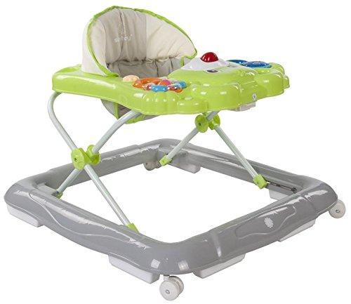 Sun Baby Bear - Andador para bebé con carritos de bebé, color verde y gris