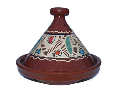 Marokkanische Tajine zum Kochen Ø 35 cm für 3-5 Personen - 905118-00093