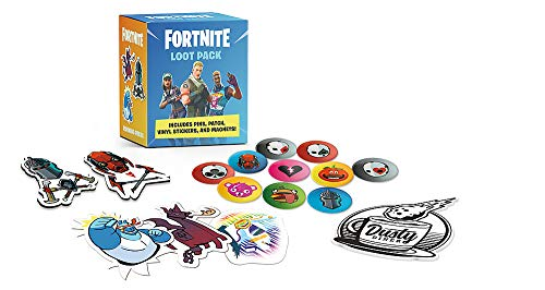 FORTNITE (Official) Loot Pack: Includes Pins, Patch, Vinyl Stickers, and Magnets! (Rp Minis)