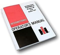 New International Farmall Super M Mv Tractor Owners Operators Manual Maintenance
