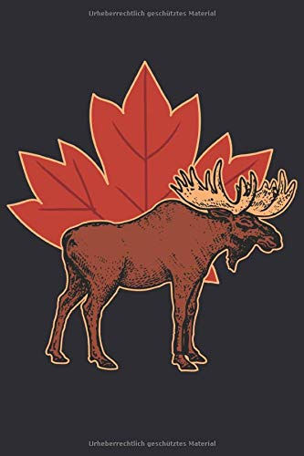 Kanada Notizbuch: Perfektes Geschenk für Kanada Liebhaber und Urlauber