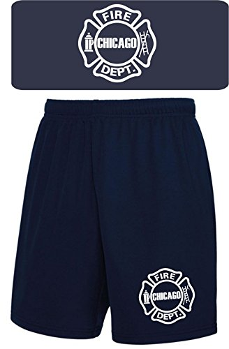 feuer1 Performace Shorts Navy, Chicago Fire Deptartment
