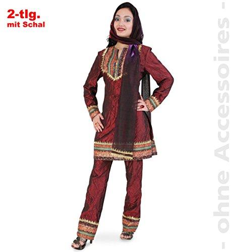Mahima Kostüm Inderin Gr. 42 Oberteil mit Hose