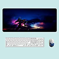 新世紀エヴァンゲリオンマウスパッド 大型 デスクマット PCマット 超大型 900*400*3mm ゲーミングマウスパッド おしゃれ 防水 耐久性 滑り止め オフィス ゲーム-A3_300*800*3mm_
