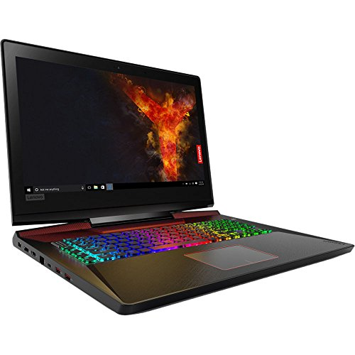 "Lenovo Legion Y920 17.3"" Full HD Gaming Laptop - 7th Gen. Intel Core i7-7820HK Processor up to 3.90 GHz, 32GB Memory, 1TB SSD + 2TB Hard Drive, 8GB NVIDIA GeForce GTX 1070, Windows 10"