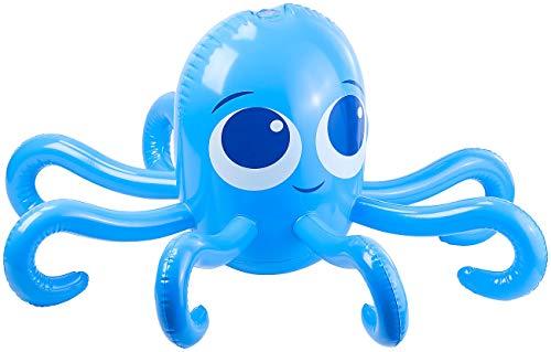 Playtastic Gartenspielzeug: Aufblasbarer Oktopus mit integriertem Wassersprinkler für Kinder (Wasserspielzeug Garten)
