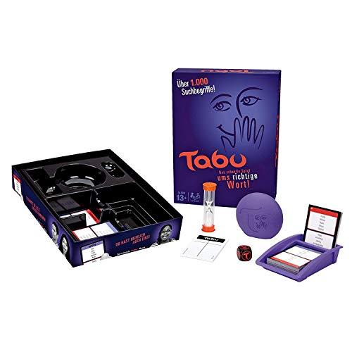 Hasbro Tabu, klassisches Partyspiel, ab 13 Jahren