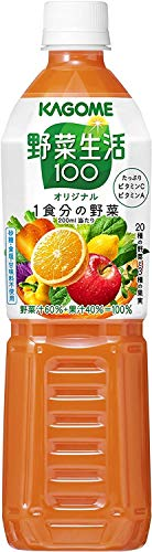 カゴメ 野菜生活100 オリジナル スマートPET 720ml×15本