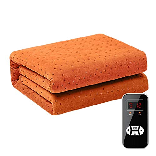 NIHAOA Electric Blanket, Built In Advanced Overheat Protection System Electric Heated Throw Blanket with Timer and.