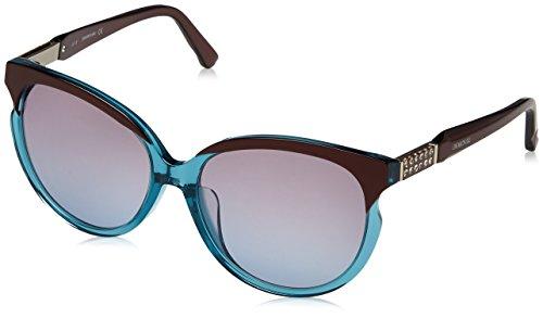 Swarovski SK0081 89T-58-16-145 Swarovski Sunglasses Sk0081 89T-58-16-145 Oval Sonnenbrille 58, Mehrfarbig