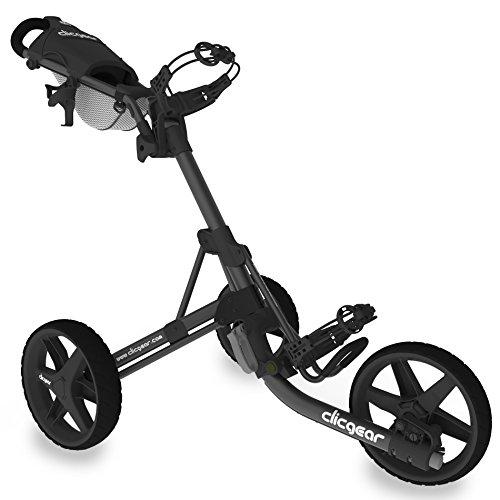 Clicgear Erwachsene Golftrolley 3.5, Schwarz/Charcoal, One Size