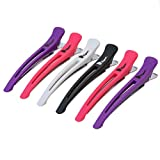 Fagaci Hair Clips | 6 Hair Clips for Styling and Sectioning with Silicone Band | Professional Hair Clips for Women - Salon Hair Clips and DIY Accessories - Durable, Anti-Slip