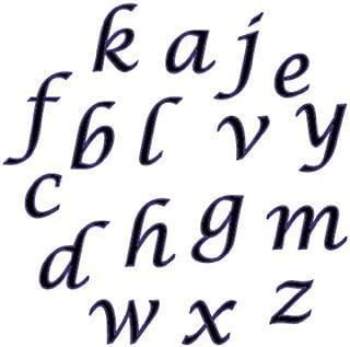CK Products 43-C277 FMM Lower Case Script Alphabet Tappit Cutter Set - 1/2