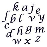 CK Products FMM Lower Case Script Alphabet...