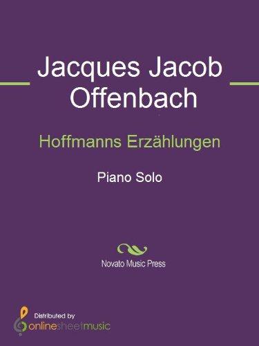 Hoffmanns Erzählungen - Piano (English Edition)