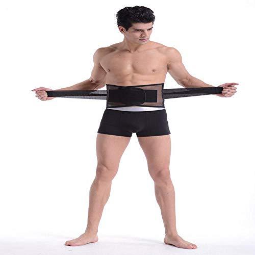 INITIALD Fitnessgürtel, Damengürtel, Stahlgürtel, Atmungsaktiver Mesh-Gürtel, Taillenstützgürtel @ M, Atmungsaktive Fettverbrennung Schweiß Shaper