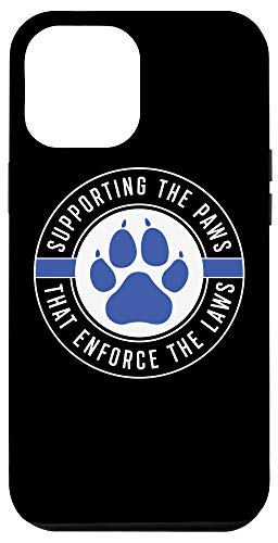iPhone 12 Pro Max K9 Police Officer Support Case