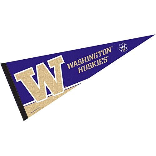 College Flags & Banners Co. University of Washington Pennant Full Size Felt