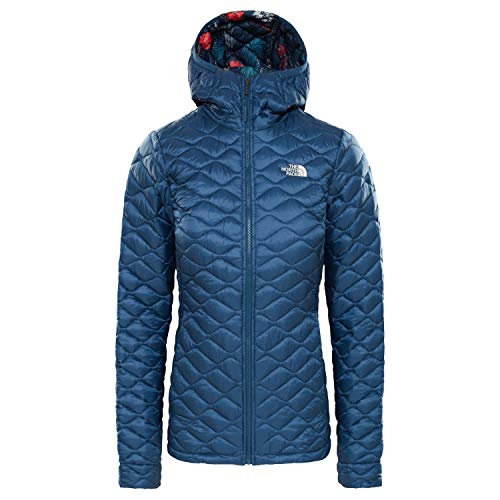 THE NORTH FACE Thermoball Hoodie Damen Blue Wing Teal/Blue Wing Teal Joshua Tree Print Größe L 2019 Jacke